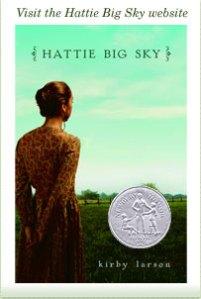 Hattie Big Sky book cover