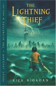 Percy Jackson and the Olympians: The Lightning Thief book cover