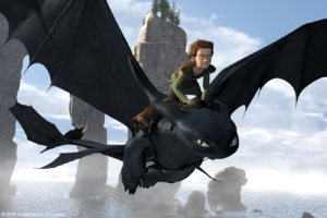 How to Train Your Dragon movie scene
