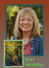 Valerie Hobbs headshot and The Best Last Days of Summer book cover