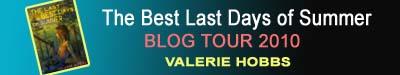 Valerie Hobbs blog tour banner