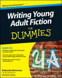 Writing Young Adult Fiction For Dummies book cover