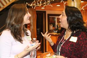 Samantha Clark and Varsha Bajaj