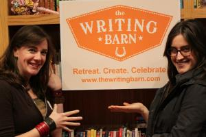 Author Maggie Stiefvater at The Writing Barn