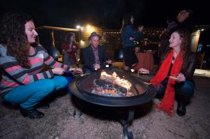 The Texas Book Festival party at The Writng Barn