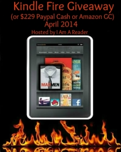 I Am a Reader Kindle Fire giveaway