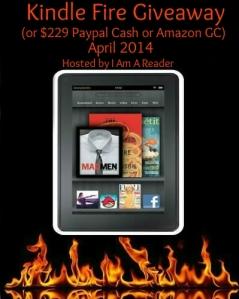 I Am a Reader Kindle Fire giveaway